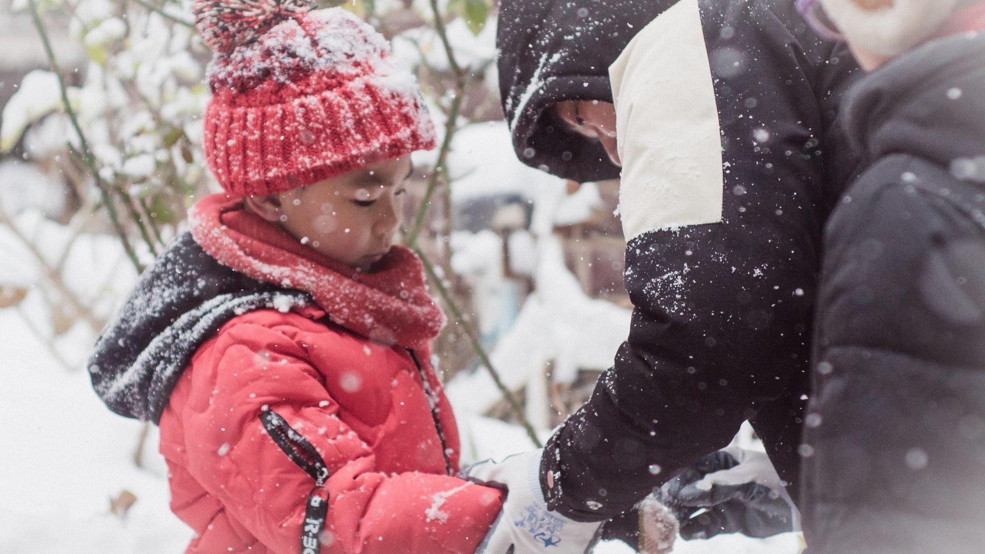Familieferie i de koldere luftlag