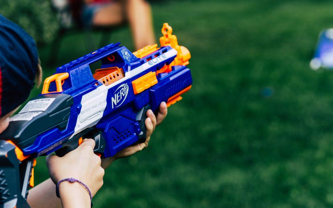 Skal vi lege med pistoler?