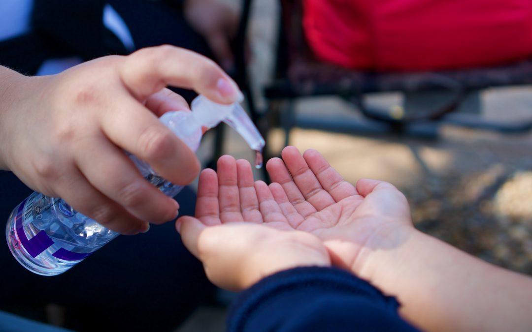 Børn og håndsprit